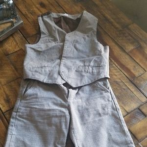 Janie and Jack Matching Sets - Pants and a vest